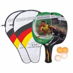 Set de raquettes de tennis de table Speedy Fetzner Level 400 Donic-Schildkröt acheter maintenant en ligne