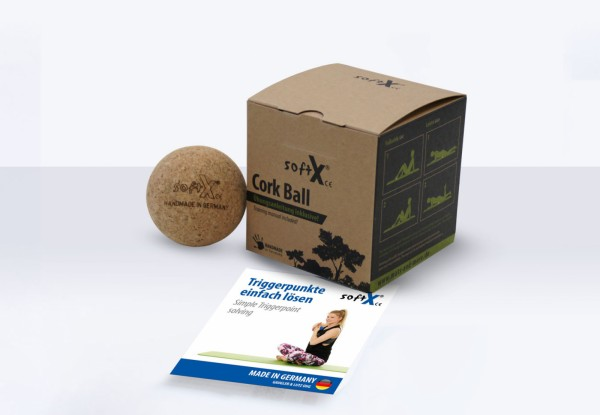 softX® Massageball Cork 65