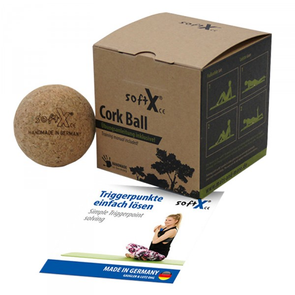 softX® Cork 90 massasjeball