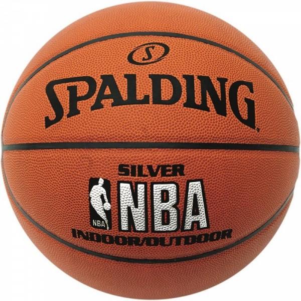 Spalding Basketball NBA Silver