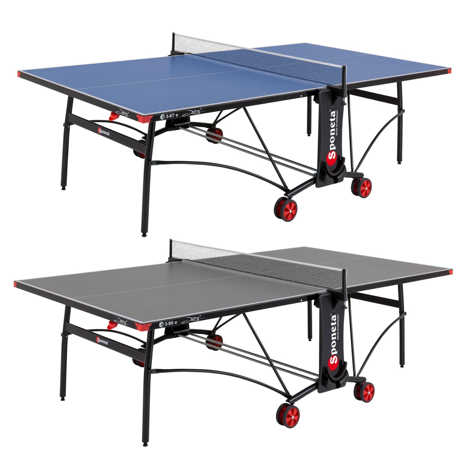 Sponeta table tennis table s3 87e s3 80e joy sport tiedje - Sponeta table tennis table ...