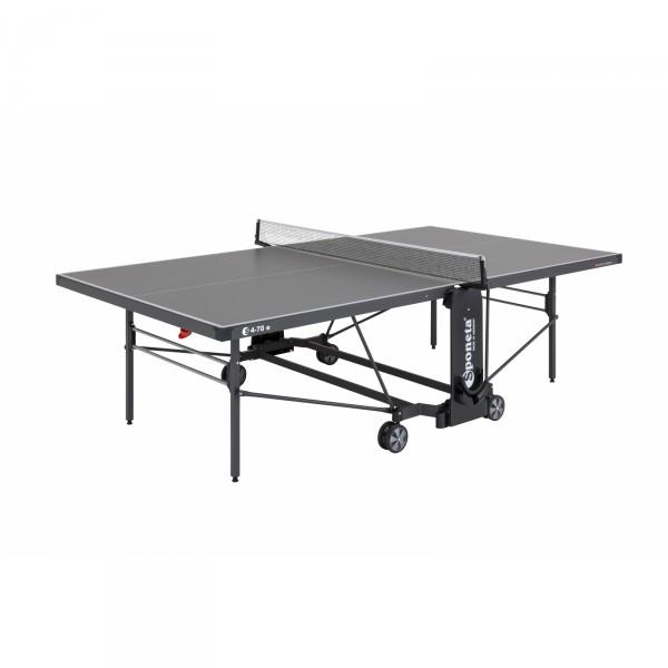 Stůl na stolní tenis Sponeta S4-73e/S4-70e šedý
