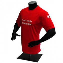 Sport-Tiedje Fitness-Team functional shirt Detailbild