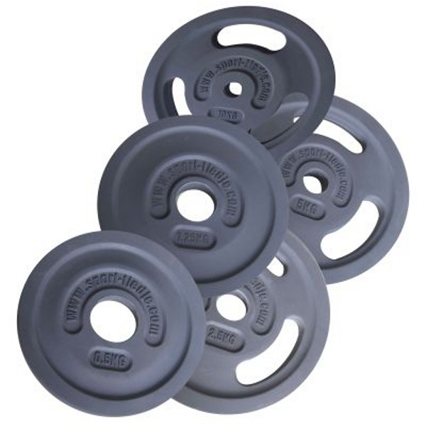 Sport-Tiedje Rubber Encased 3G Premium Weight Plates
