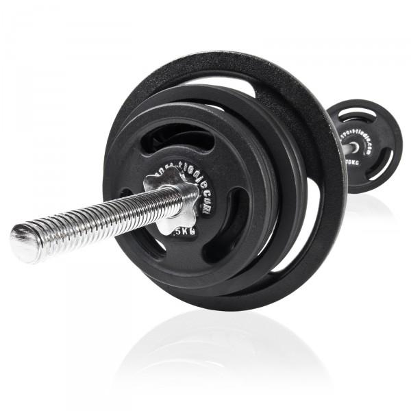 Sport-Tiedje Langhantel Set 60 kg