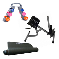 Set pour le fitness du dos Sport-Tiedje Set 2