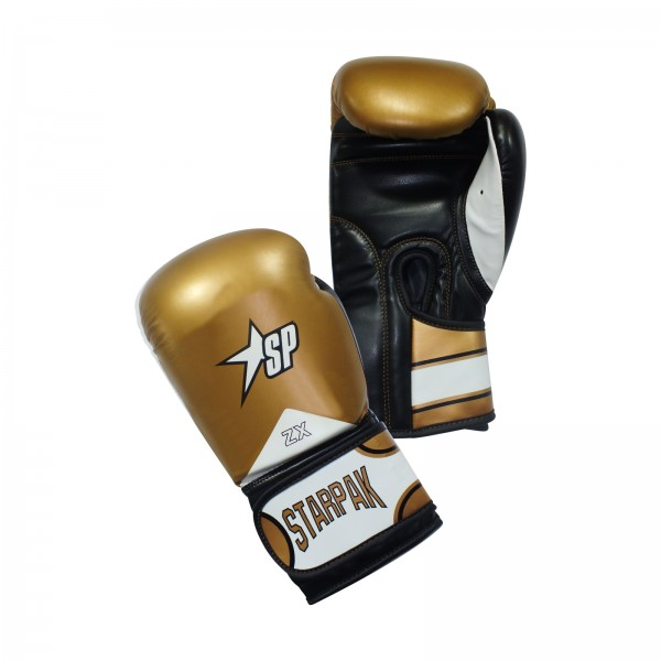 Starpak Training boxing gloves Gold