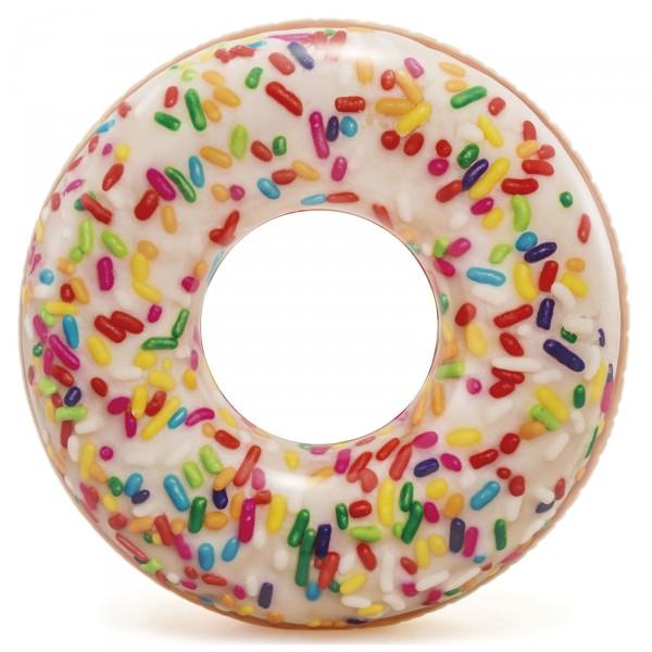 Rueda Hinchable Donut con Sprinkle de Colores