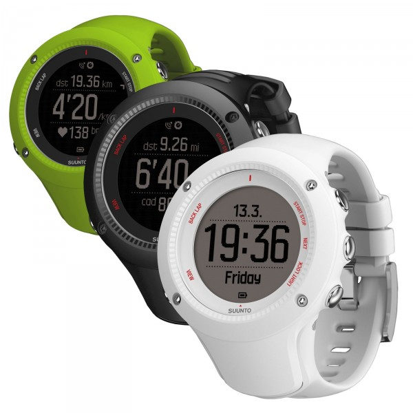 Suunto AMBIT 3 RUN (HR) schwarz ohne Brustgurt