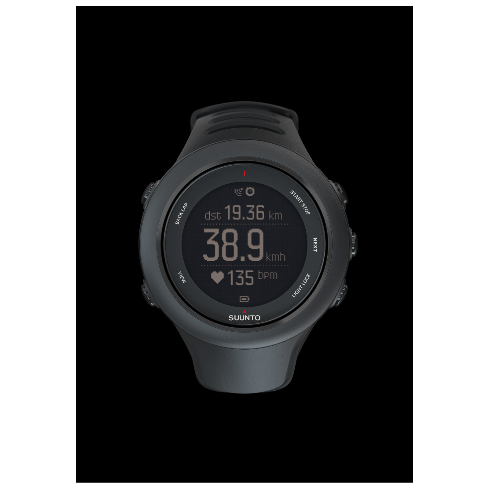 Suunto Ambit 3 Sport Inkl Brustgurt Tiedje Ambit3 Black Hr Gps Watch For Multisport Produktbild Loading Zoom