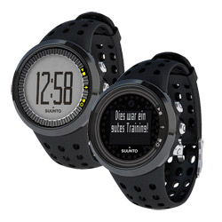 Suunto M5 sport watch with pulse monitor