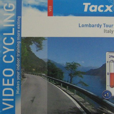 Tacx Video Cycling Dvd Lombardy Tour Italy Sport Tiedje