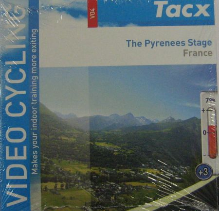 Video Cycling DVD Tacx Le stage Pyrénées - France