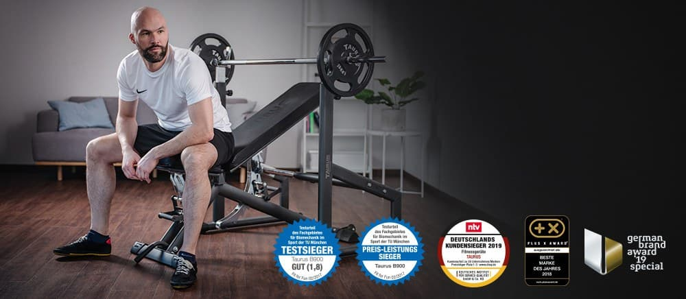 High-quality weight bench at an affordable price