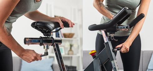 Taurus IC50 Indoor Cycle Passt sich Ihnen an