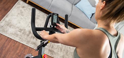 Taurus IC50 Indoor Cycle Alle Trainingsdaten auf einen Blick