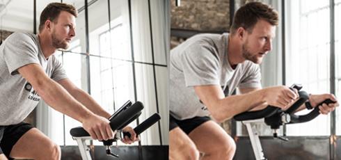 Taurus IC70 Pro Indoor Cycle Un attrezzo fitness che si adatta a te!