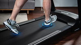 Bild: Angenehmer Laufband-Komfort