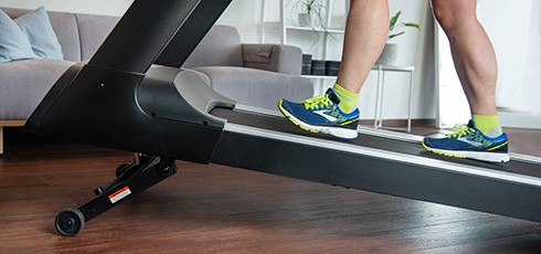 Figure: Running Training on an Incline