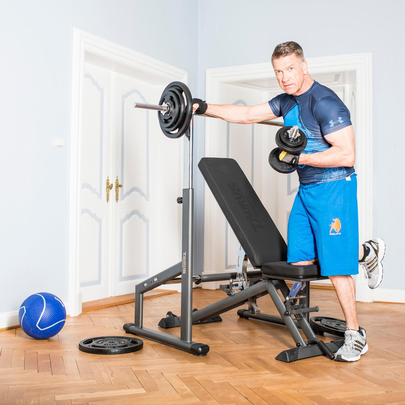 Taurus weight bench B900 buy with 198 customer ratings - Sport-Tiedje