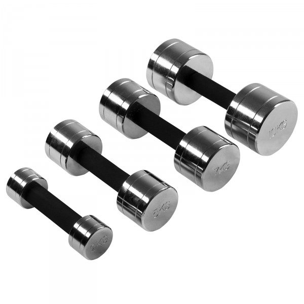 Chrome Dumbbells