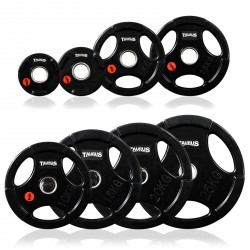 Taurus weight plate 3G 30 mm rubberised acquistare adesso online