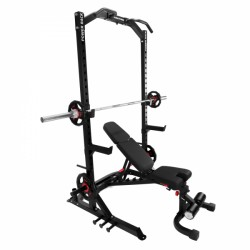 Taurus Power Rack + Taurus F.I.D. commercial weight bench B990 purchase online now