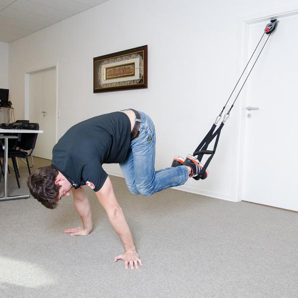 schlingentrainer pro taurus fitnessger te. Black Bedroom Furniture Sets. Home Design Ideas