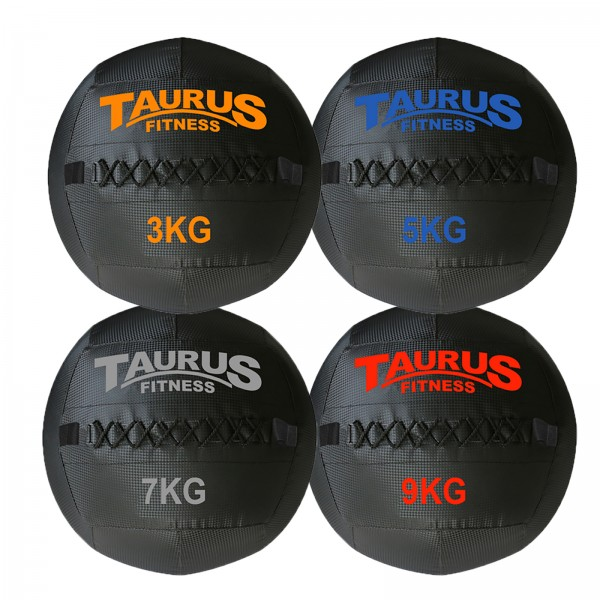 Taurus Wall Ball Set 3-9kg