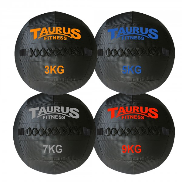 Set Wall Ball Taurus (3-9 kg)