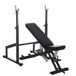 Taurus weight bench B900 incl. barbell training module purchase online now