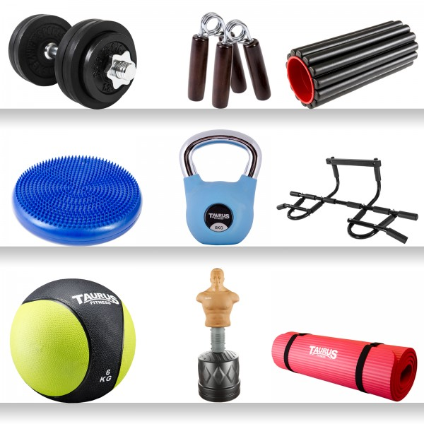 Taurus Christians Fitness Set