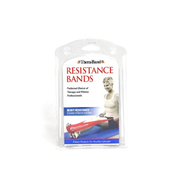 Thera-Band Resistance Bands Strong 1,5 m, Set Of 2