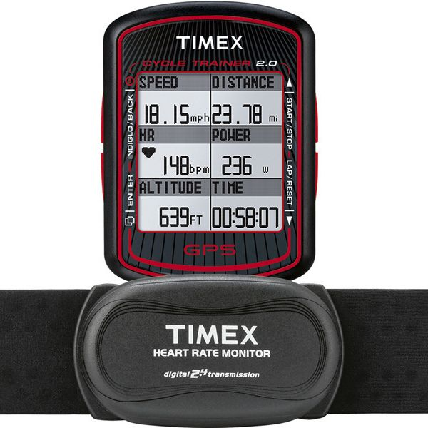 Timex Ironman Cycle Trainer HRM GPS (T5K615)