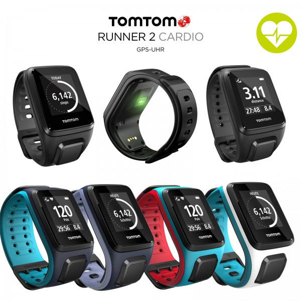 TomTom GPS sport watch Runner 2 Cardio