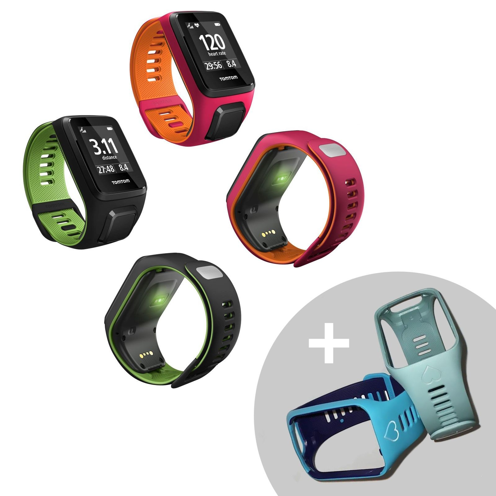 tomtom runner 3 cardio montre de sport gps acheter bon prix chez fitshop. Black Bedroom Furniture Sets. Home Design Ideas