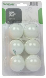 Tunturi table tennis balls set of 6 acheter maintenant en ligne