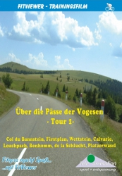 Vitalis FitViewer movie Via the passes of the Vosges Mountains I