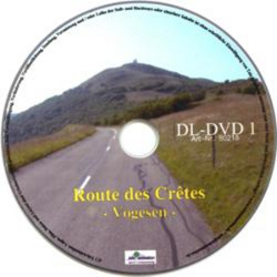 Vitalis FitViewer film Route de Cretes - Vosges Mountains