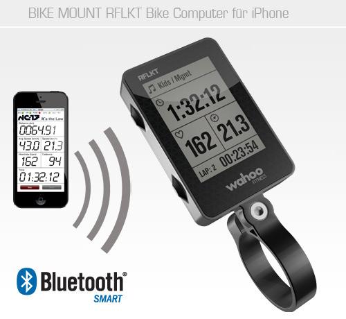 Ordinateur de vélo Wahoo Fitness RFLKT