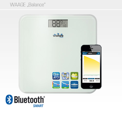Wahoo Balance Waage Bluetooth Smart 4.0