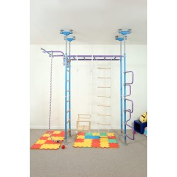 Wallbarz Jungle Dome gymnastics set