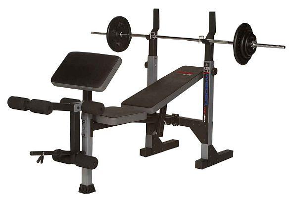 weider pro 420 free weight bench fitshop. Black Bedroom Furniture Sets. Home Design Ideas