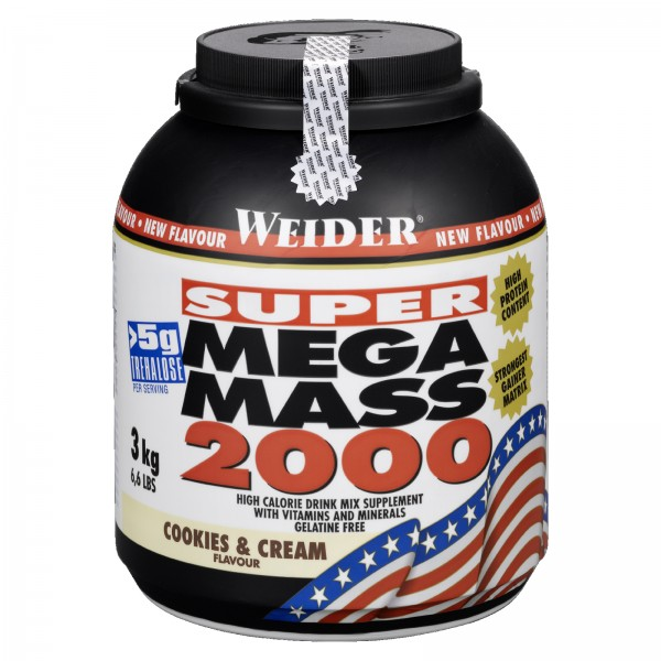 Weider Mass Gainer Mega Mass 2000