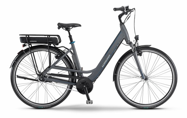 Winora E-Bike X480.F (Wave, 28 Zoll) + Modular Pack 500