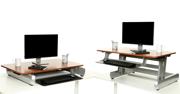 Bewegtes Büro - Schreibtischaufsatz
