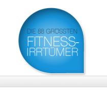 Die 88 größten Fitness-Irrtümer