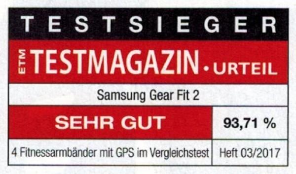 ETM-Testmagazin - Samsung Gear Fit 2