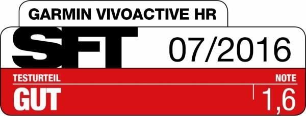 SFT Magazin - Garmin vivoactive HR