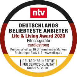 cardiostrong und Taurus Life & Living Award 2020